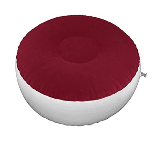 RYSF Taburete Inflable De Aire Portátil para Acampar Asiento Inflable Plegable Silla De Aire Silla Otomana para Dormitorio De Pesca (Color : Red)