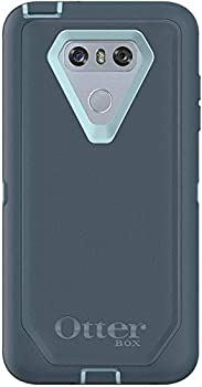 Rugged Protection OtterBox Defender Series Case for LG G6 - Case Only - Bulk Packaging - Moon River  Bahama Blue/Tempest Blue