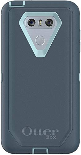 Rugged Protection OtterBox Defender Series Case for LG G6 - Case Only - Bulk Packaging - Moon River (Bahama Blue/Tempest Blue)