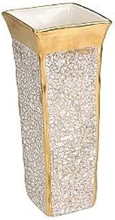 Michael Wainwright 858293 Tempio Luna Gold Square Vase
