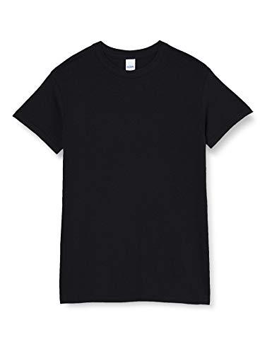 Gildan Herren Heavy Cotton Tee T-Shirt, Schwarz, XL
