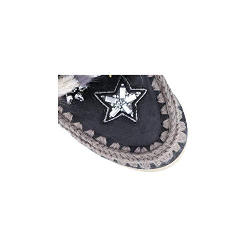 Botas Mou Eskimo Sneaker Stars & Mink Gris Mujer 39 OFFB