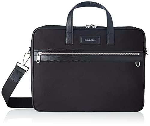 CALVIN KLEIN Urban Utility Laptoptasche für Herren, mit Packung, Schwarz, Einheitsgröße