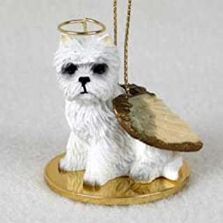 westie angel ornament