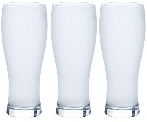 東洋佐々木ガラス ビールグラス 泡立つビヤーグラス 日本製 食洗機対応 370ml 3個セット 00542-611-JAN