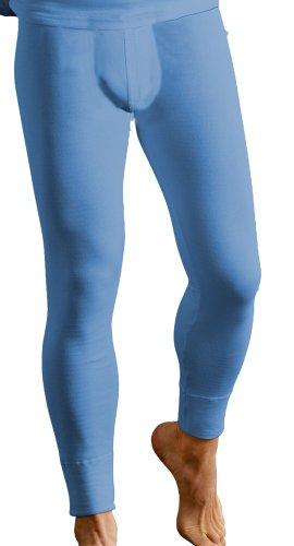 Sous-vêtement thermique - caleçon long et chaud pour hommes - Bleu - Taille 3 (S)