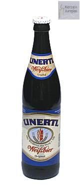Bierflaschenkerze / Kerze Bierflasche Unertl Weissbier - 2031 - Bayerische Geschenke - Bayrische Kerze