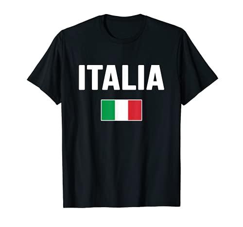 Italy Italian Flag Italia Souvenir T-Shirt