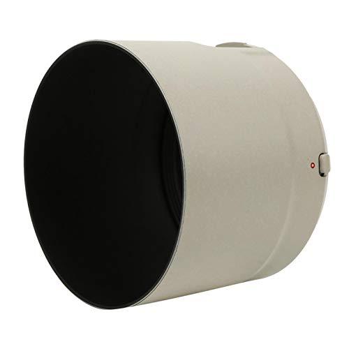 Beisha Parasol para Objetivo, ET-83D Parasol para Objetivo de plástico Blanco para Ca-Non EF 100-400 mm f/4,5-5,6L IS II USM