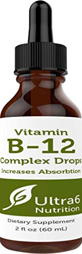 Vitamin B12 Drops. 90 Day Supply. Liquid B12 for Best Absorption - Methylcobalamin B12 Great for Energy. Best Selling Sublingual B12