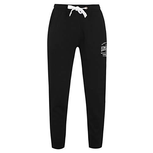 Pantalones de chándal para hombre, de la marca Lonsdale, hombre, Black -...