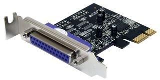StarTech.com PEX1PLP - Adaptador Tarjeta PCIe Perfil bajo Paralelo de 1 Puerto