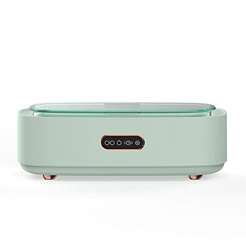 OUYA Limpiador Joyas Ultrasónico 300Ml con Múltiples Modos De Limpieza Máquina Limpieza Profesional 360 ° para Gafas, Joyas, Relojes Impermeables, Tirantes, Vajilla,Verde