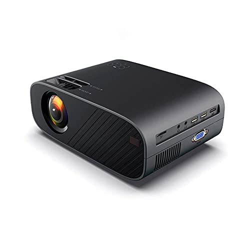ZHAOHGJ Worth Having - LED Video proyector portátil Opcional WiFi Bluetooth Beamer Soporte Completo HD 1080P Cine de Cine en casa, Negro