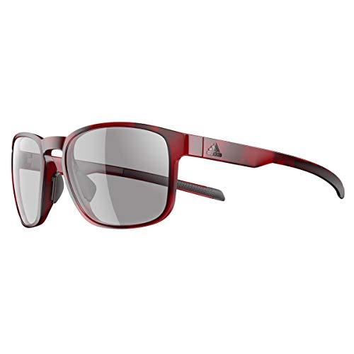 Adidas Brille Sonnenbrille PROTEAN ad32 Damen Herren Einheitsgröße (red havanna - 3000)