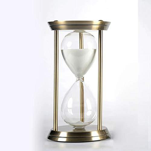 Kit de herramientas multi creativo cumpleaños negocio regalo oro 15 minutos metal reloj de arena temporizador decoración regalos para hombres
