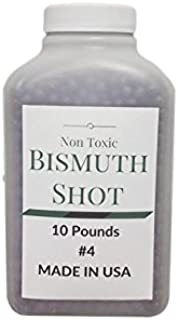 RotoMetals Bismuth Shot Alloy for Reloading Shells #4 (.13