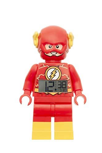 LEGO Reloj Despertador, Rojo/Amarillo, DC Comics The Flash