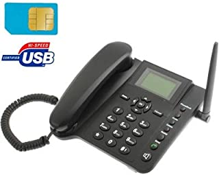Telefono da tavolo con SIM