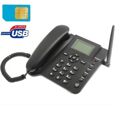 nexoo Teléfono de escritorio con tarjeta SIM -GSM