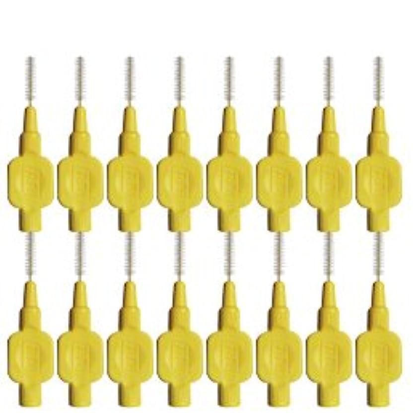 毛布フォアマン定常テペ(TePe) 歯間ブラシ 8本入 × 2個 イエロー(0.7mm)