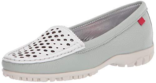 MARC JOSEPH NEW YORK Damen Golf-Schuh, Leder Made in Brazil verporiertem Vamp, Grn (Mint/Weiß getrocknet), 39 EU