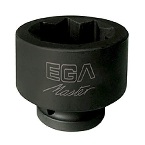 """Egamaster - Llave vaso impacto 1/2-1. 1/8\"""" 8 cantos"""