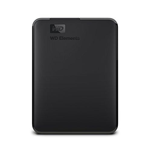 WD 3TB Elements Portable, Hard Disk Esterno Portatile, USB 3.0