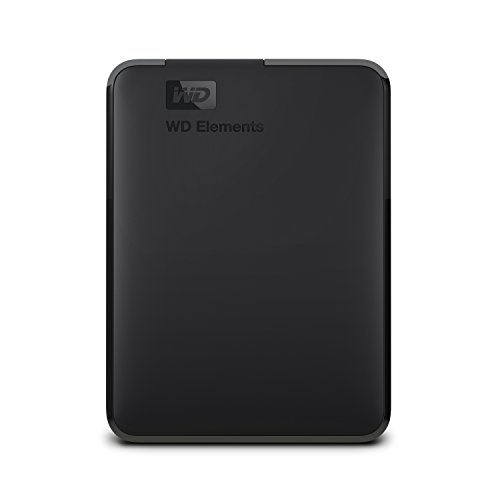 WD Elements - Disco duro externo portátil de 3 TB con USB 3.0, color negro ✅