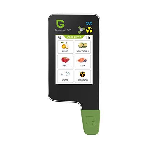 Greentest eco 6 Nitratprüfer für Gemüse, Obst, Fleisch, Fisch, Wasser Meter Härte TDS PPM, Strahlungsdetektor Geigerzähler