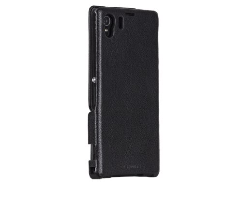 Case-Mate CM029342 Custodia Signature per Sony Xperia Z1, Nero