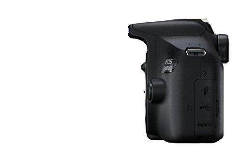 Canon EOS 2000D DSLR Camera Body - Black