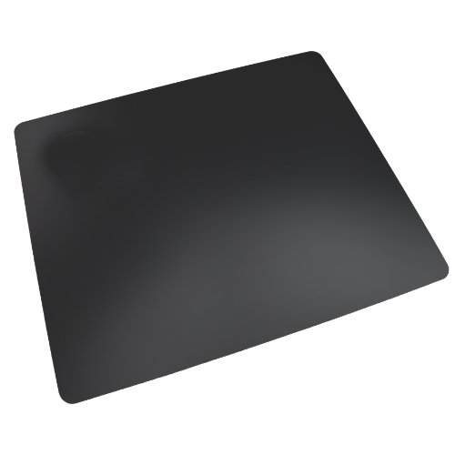 """Artistic 20"""" x 36"""" Rhinolin II Ultra-Smooth Writing Pad Desk Mat with Antimicrobial Protection, Black"""