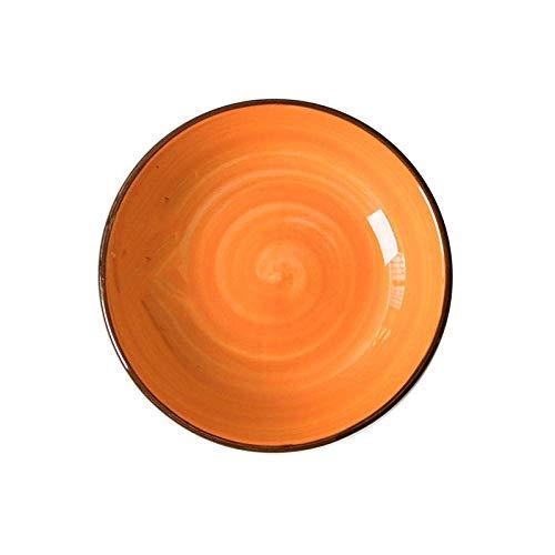 Platos de cena placa placa de cena placa de cena, 25 cm platos de cena de porcelana, creativo estilo japonés estilo de coreano pintado a mano Home-pintado a mano hotel de regalo de cerámica conjunto d