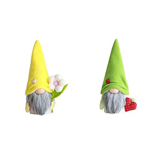 JQq Wichtel Figuren Für Osterhase Deko, Osterhase Beine Handgemachte Schwedische Tomte Kaninchen Ornamente Frühlingsgeschenke Ferienhaus Party Dekorationgeschenke ostern