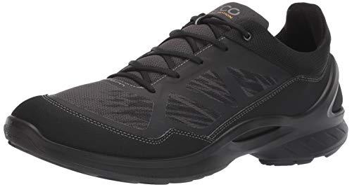 ECCO Men's Biom Fjuel Textile Walking Shoe, Black/Dark Shadow, 48 M EU (14-14.5 US)
