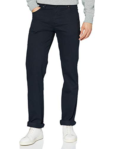 Wrangler Regular FIT Pantalones Informales, Azul Marino, 31W x 34L para Hombre