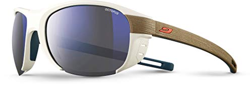 Julbo Regatta Gafas de Sol Mixta, Color Blanc/Light Brown, tamaño Talla única