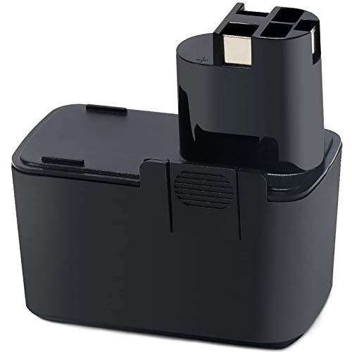 Batteria Bosch 2 607 335 037,POWERAXIS GSR 9.6 VES-2 PSR9.6 Batteria 9.6V 3.0Ah NIMH per Bosch PSR 9.6 VES-2 PSR 9.6 VE PSB 9.6V ES-2 GSB 9.6 VES-2 2607335072 2607335035 BAT001