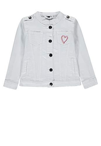 Marc O' Polo Kids Mädchen Jeansjacke 1/1 Arm Jacke, Beige (Vanilla Ice|Beige 1790), 104