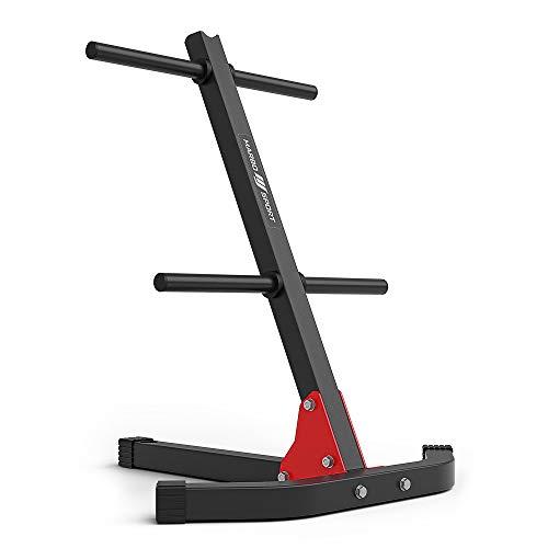 Marbo Sport Supporto pesi per piastre pesi e maniglia multi-stand MH-S206
