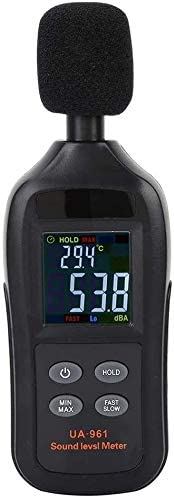 OFFicial store Handheld Sound High material Level Noise Black Meter