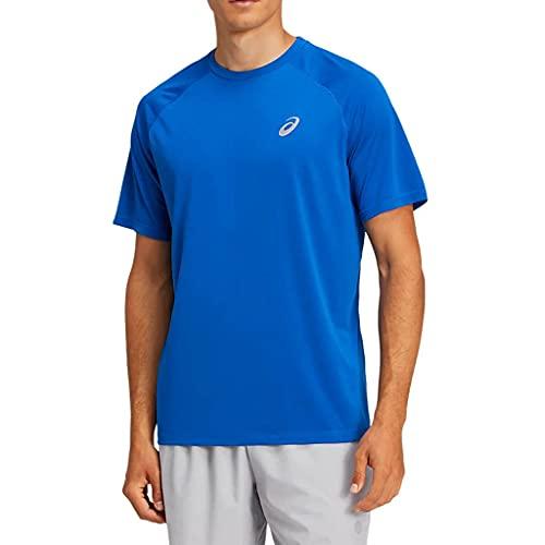ASICS Camiseta deportiva para hombre con ejercicio y...