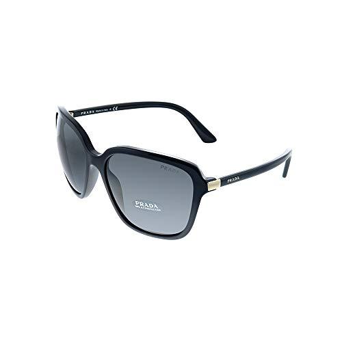 Prada 0PR 10VS Gafas de Sol, Negro, 58 para Mujer