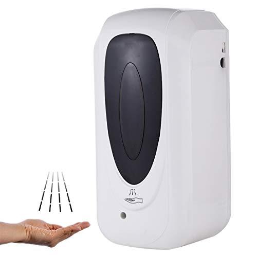 F1303 1000ML Touchless automatische Infrarot-Sensor-Spray Sterilisation Dispenser (weiß) (Farbe : Weiß)