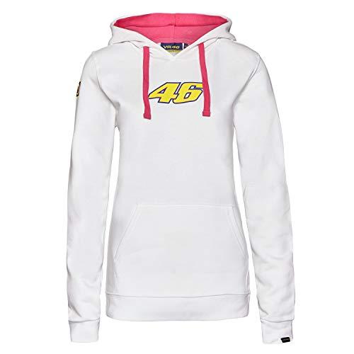MotoGP Valentino Rossi Sweat à capuche pour femme Blanc Taille XL