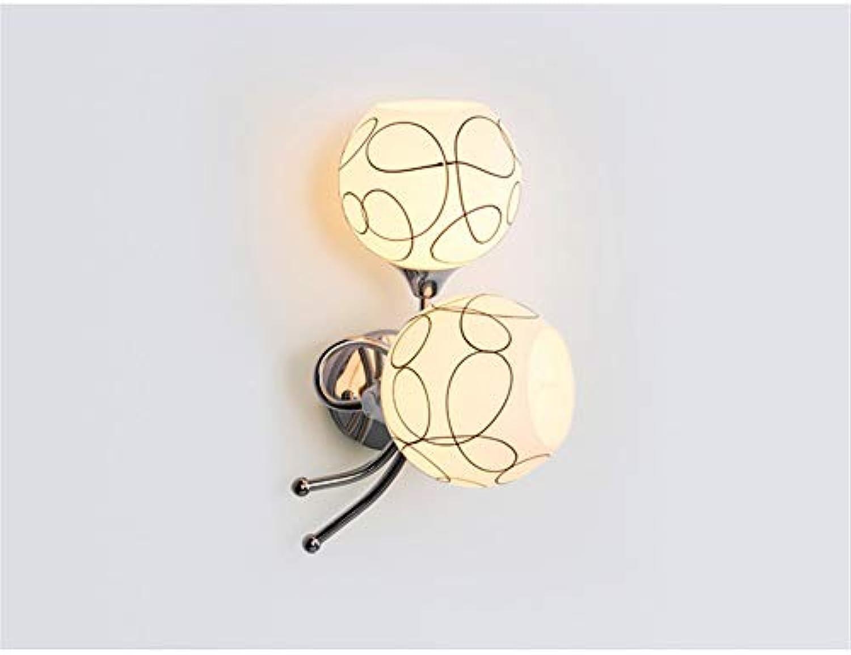 Modern LED Wandleuchte Einfache wandleuchte moderne nachttischlampe schlafzimmer lampe wohnzimmer esszimmer TV wand gang treppenbeleuchtung lampe durchmesser 14  hohe 35 CM