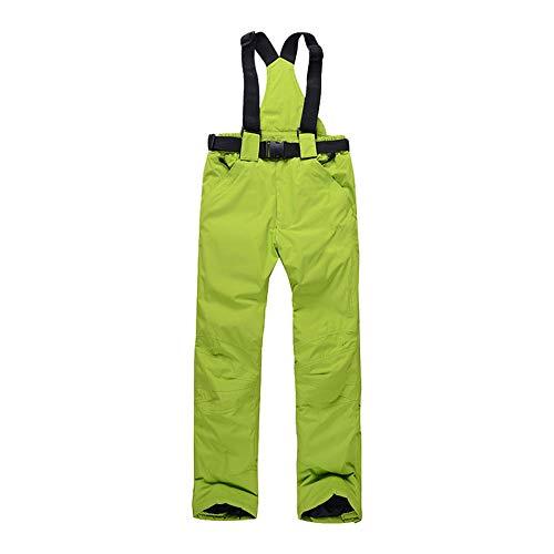 CYHW Skibroek voor mannen en vrouwen, buitenshuis, winddicht, warm, waterdicht, paar sneeuwbroek, winter, skibroek