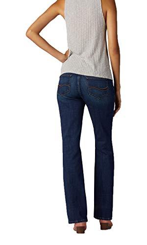 Lee Women's Flex Motion Regular Fit Bootcut Jean, Royal Chakra, 4