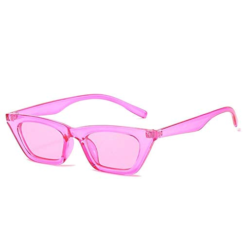 ZZOW Gafas De Sol Pequeñas De Ojo De Gato A La Moda para Mujer, Diseñador De Marca, Colores Claros Dulces, Gafas Vintage para Hombre, Gafas De Sol Verdes Azules, Sombras